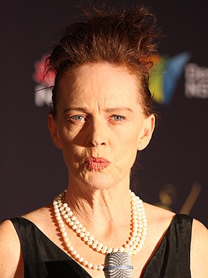 Judy Davis - Davis at the AACTA Awards in Sydney, New South Wales, January 2012