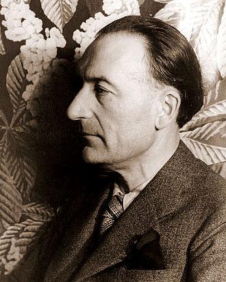 Jules Romains - Jules Romains, photo taken  by Carl Van Vechten, 1936
