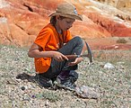 Junior geologist in the Altai Mountains.jpg