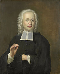 Portrait of Justus Tjeenk, one of the Founders of the Scientific Society of Zealand and Clergyman at Flushing