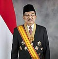 Jusuf Kalla with vice presidential decoration (2nd period).jpg