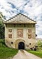 Köttmannsdorf Hollenburg Burganlage Torturm N-Ansicht 13072018 5974.jpg