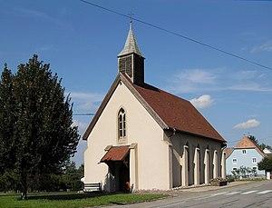 Kœstlach - Image: Kœstlach, Chapelle Notre Dame des Douleurs
