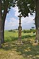 Kříž u silnice do Ohrozimi, Plumlov, okres Prostějov.jpg