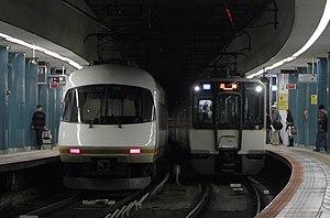 Kintetsu Namba Line - Image: KINTETSU Osaka Namba Station B