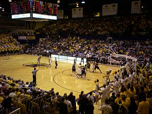 Kent State Golden Flashes men's basketball - KSU versus the Akron Zips on January 23, 2008, at the MAC Center
