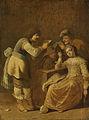 Kaartspelers met een pijprokende vrouw Rijksmuseum SK-A-1298.jpeg