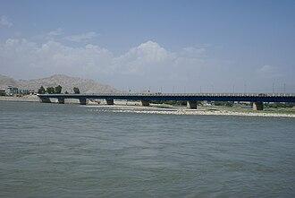Kabul River - Image: Kabulriverinjaa