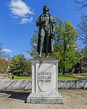 Monument in Kaliningrad (formerly Königsberg), Russia (Source: Wikimedia)