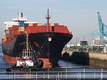 Kalliopi R.C. (ship, 1991), IMO 8902565, MMSI 636016907, Callsign D5IJ3, Port of Antwerp pic2.JPG