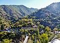 Kalopanagiotis Blick auf das Kloster Agios Ioannis Lampadistis 1.jpg