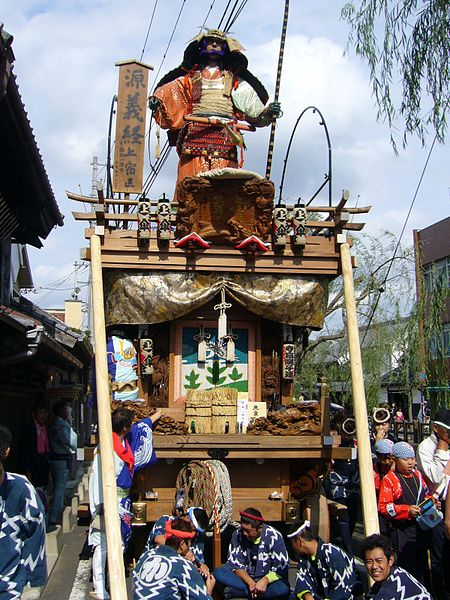 ファイル:Kamijyuku,sawara-float-festival,katori-city,japan.JPG