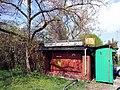 Karlsruhe-Knielingen, Verlassener Kiosk - geo.hlipp.de - 24534.jpg