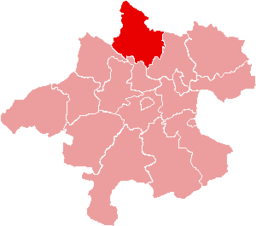 Bezirk Rohrbach location map