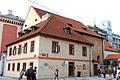 Kasárna Jiřího z Poděbrad, z toho jen hlavní budova a budova jízdárny (Nové Město).jpg