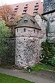 Kasemattenturm beim Fünfeckturm, von Norden Nürnberg 20191020 001.jpg