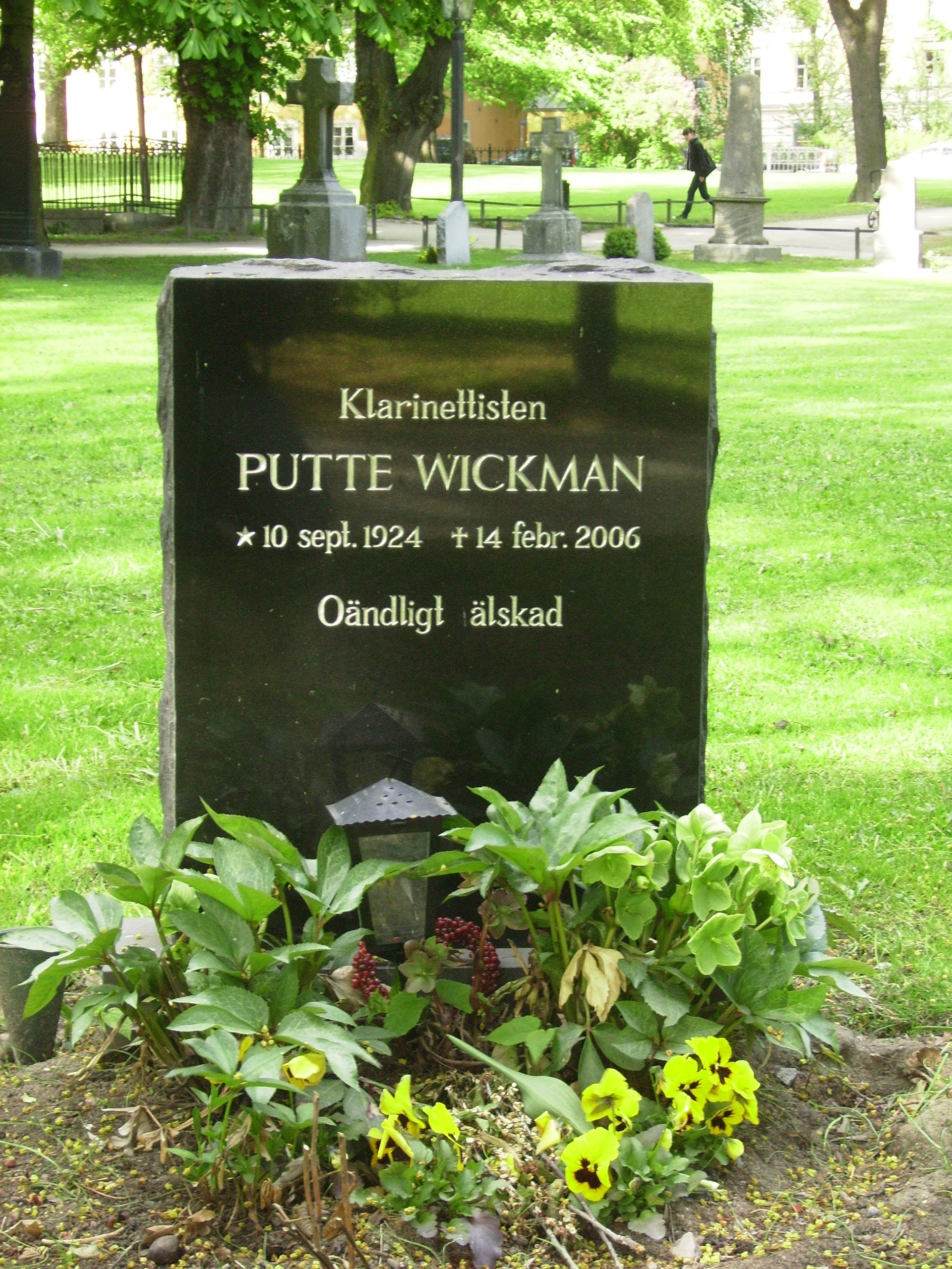 Putte Wickman net worth