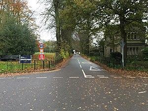 Keele University - Keele University western entrance