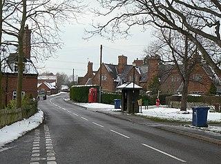 Kingston on Soar Village in Nottinghamshire, England