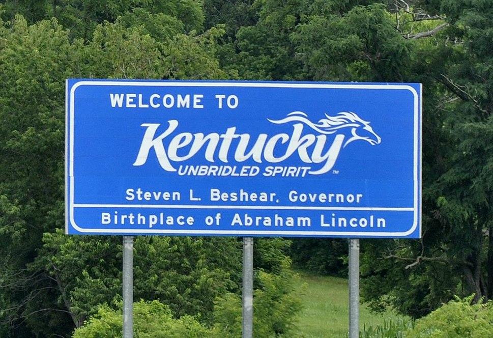 Kentucky schild