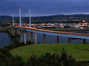 Kessock Bridge - Evening at Kessock Bridge