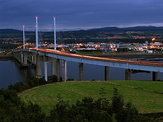 Kessock Bridge - Evening at Kessock Bridge