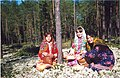 Khanty girls gathering berries.jpg