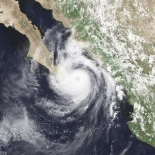 Hurricane Kiko (1989) Category 3 Pacific hurricane in 1989