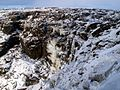 Kinder Downfall Frozen Solid - geograph.org.uk - 1628642.jpg