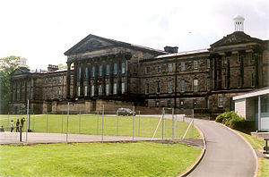 Wesley College, Sheffield - The former Wesley College, now King Edward VII School.