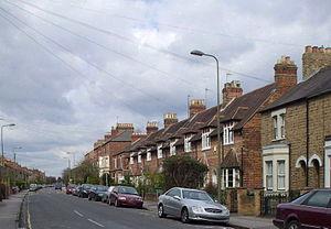 Kingston Road, Oxford - Looking north along Kingston Road.