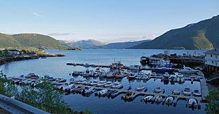 Kjøpsvik Village in Northern Norway, Norway