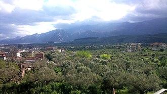 Kladas, Greece - Panoramic view of Kladas