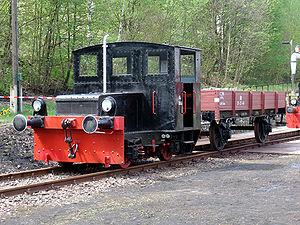 Kleinlokomotive - Kö I at Schwarzenberg Railway Museum