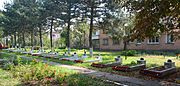 Kobeliaky Shevchenka Str. Centre Brothery Graves of WW2 Warriors 02 (YDS 8434).jpg