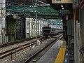 Koganei-bound E233-3000 passes by Kami-Nakazato Sta., Kaminakazato, Kita-ku, Tokyo, Japan.jpg