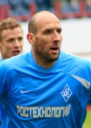 Jan Koller - Jan Koller playing for Krylia Sovetov in 2009
