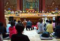Korea-Seoul-Jogyesa wooden Sakyamuni Buddha 2160-06.JPG