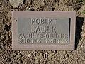 Kriegsopferfriedhof Kloster Arnsburg Grabstein Robert Lauer, SA.-Unteroffizier.JPG