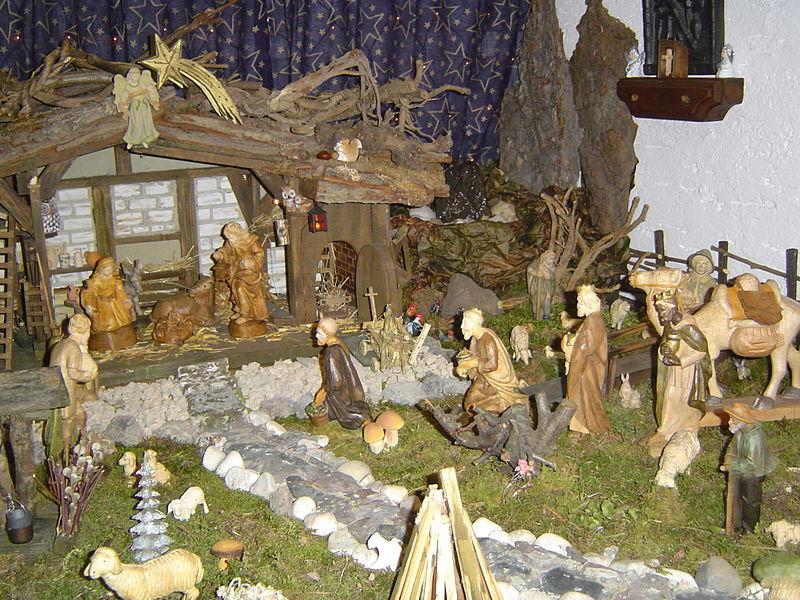 German nativity scene