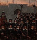Kristian Zahrtmann - Students leave to defend Copenhagen in 1658 - Google Art Project.jpg