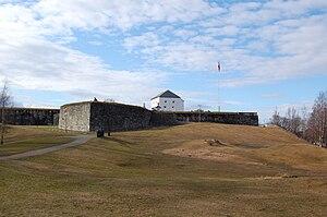 Kristiansten Fortress - Image: Kristiansten Fortress Trondheim 2009 1
