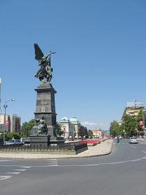 Kruševac - Trg kosovskih junaka.JPG