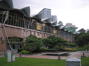 128th IOC Session - Exterior of the Kuala Lumpur Convention Centre
