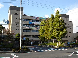 Kudamatsu City in Chūgoku, Japan