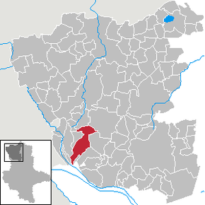 Location of Kusey in Altmarkkreis Salzwedel district prior to its merger into Klötze