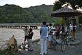 Kyoto Katsura River Togetsu Bridge 2013-09-16A.JPG