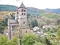 L'abbaye de Murbach, Benediktinerabtei Kloster Murbach, gegründet 727, mit romanischer Abteikirche - panoramio (1).jpg