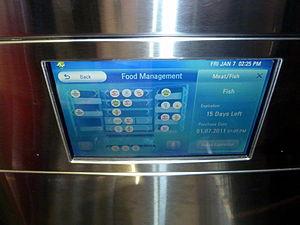 Internet refrigerator - LG Smart Refrigerator at CES 2011