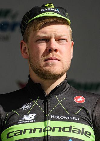 Lasse Norman Hansen - Hansen at the 2015 Tour of Alberta